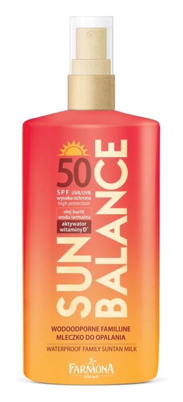 Farmona Sun Balance protector solar para toda la familia SPF 50