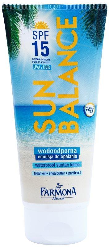 Farmona Sun Balance leite solar SPF 15