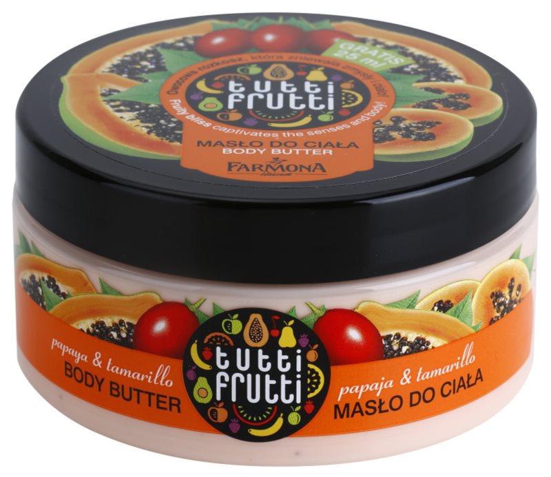 Farmona Tutti Frutti Papaja & Tamarillo Körperbutter