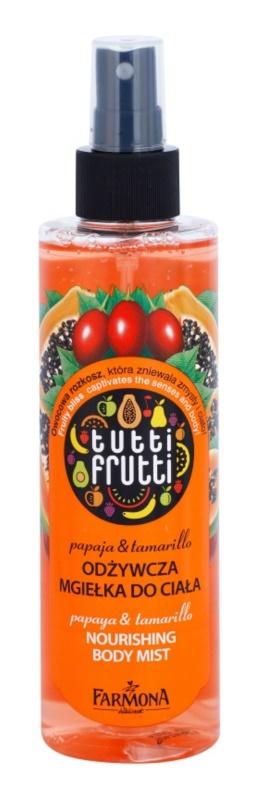 Farmona Tutti Frutti Papaja & Tamarillo Body Mist with Nourishing Effect