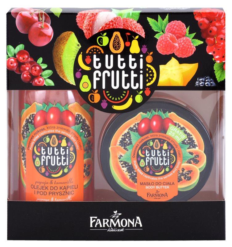 Farmona Tutti Frutti Papaja & Tamarillo kozmetika szett I.