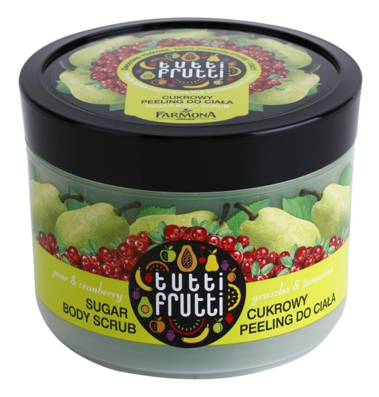 Farmona Tutti Frutti Pear & Cranberry cukros peeling testre