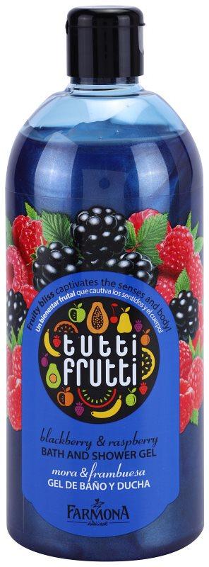 Farmona Tutti Frutti Blackberry & Raspberry gel de duche e banho