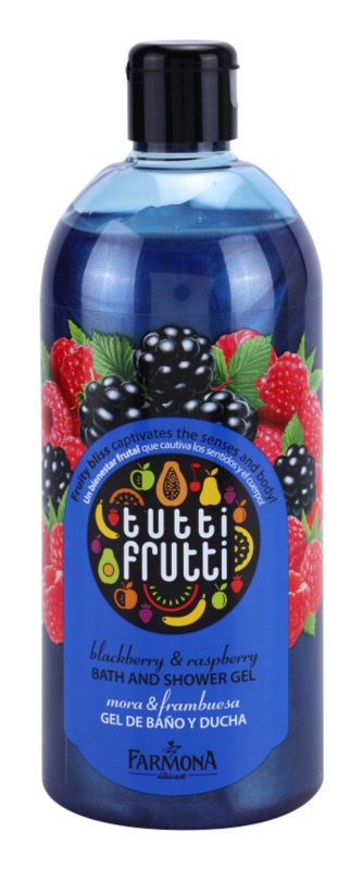 Farmona Tutti Frutti Blackberry & Raspberry gel de dus si baie