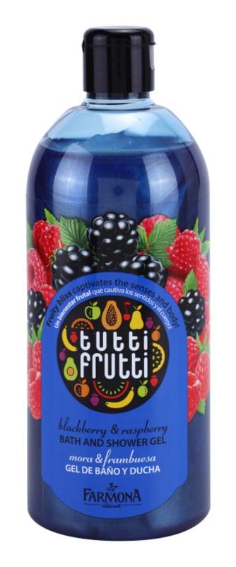 Farmona Tutti Frutti Blackberry & Raspberry sprchový a koupelový gel