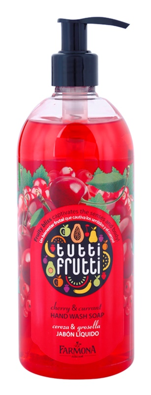Farmona Tutti Frutti Cherry & Currant Liquid Soap for Hands