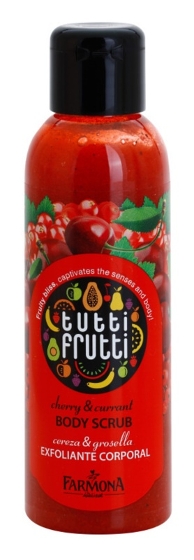 Farmona Tutti Frutti Cherry & Currant exfoliante corporal