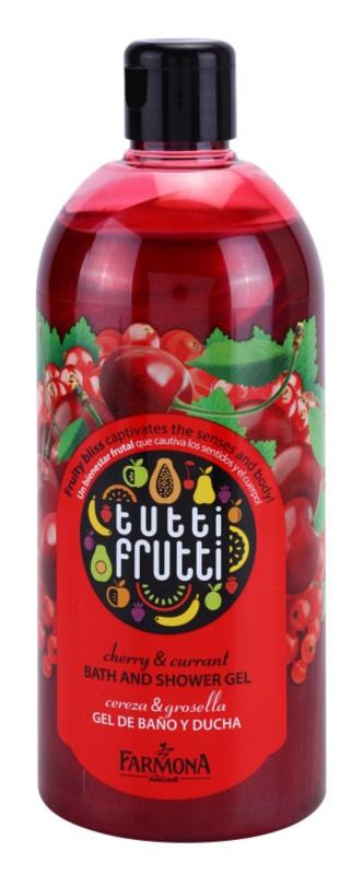 Farmona Tutti Frutti Cherry & Currant gel de ducha