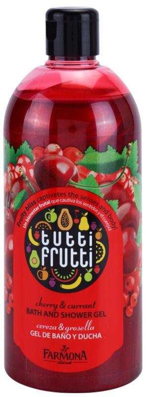 Farmona Tutti Frutti Cherry & Currant tusoló- és fürdőgél