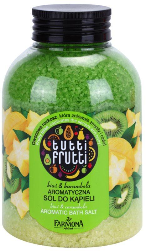 Farmona Tutti Frutti Kiwi & Carambola sal de banho