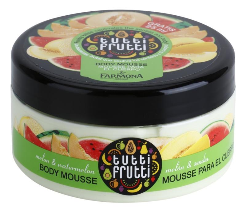 Farmona Tutti Frutti Melon & Watermelon mousse corporal