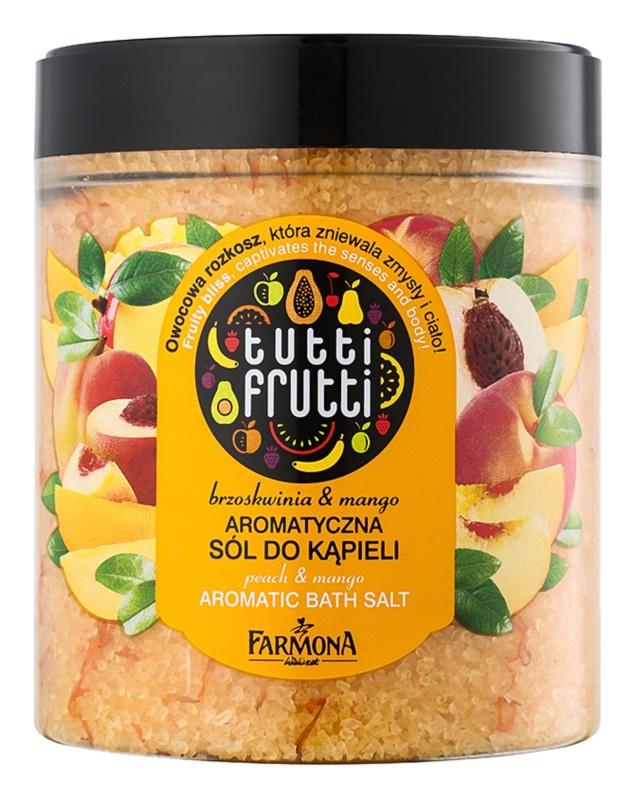Farmona Tutti Frutti Peach & Mango Badesalz