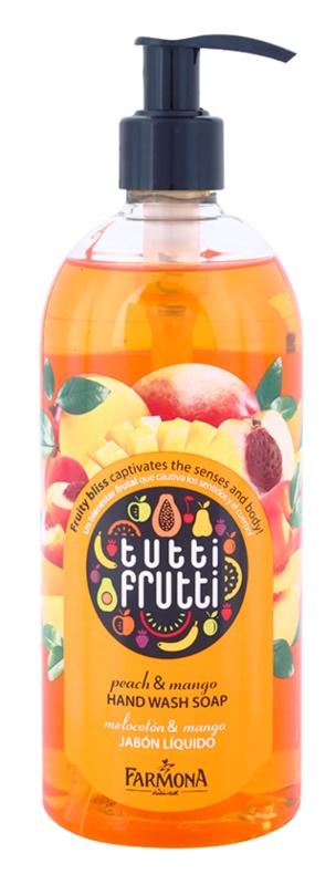 Farmona Tutti Frutti Peach & Mango sabonete líquido para mãos