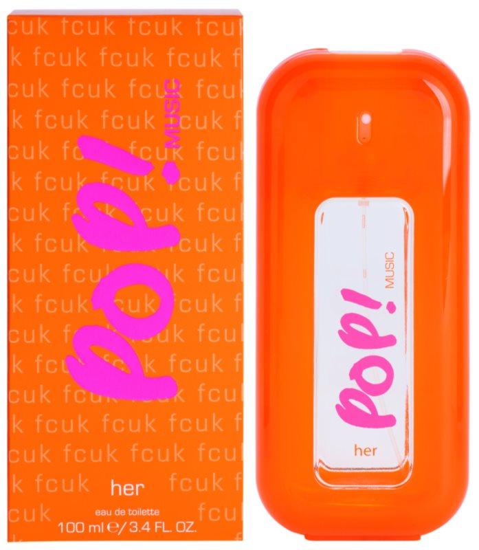 Fcuk Pop! Music toaletná voda pre ženy 100 ml