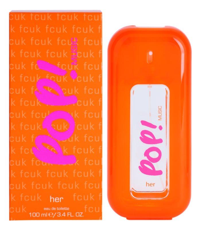 Fcuk Pop! Music toaletní voda pro ženy 100 ml