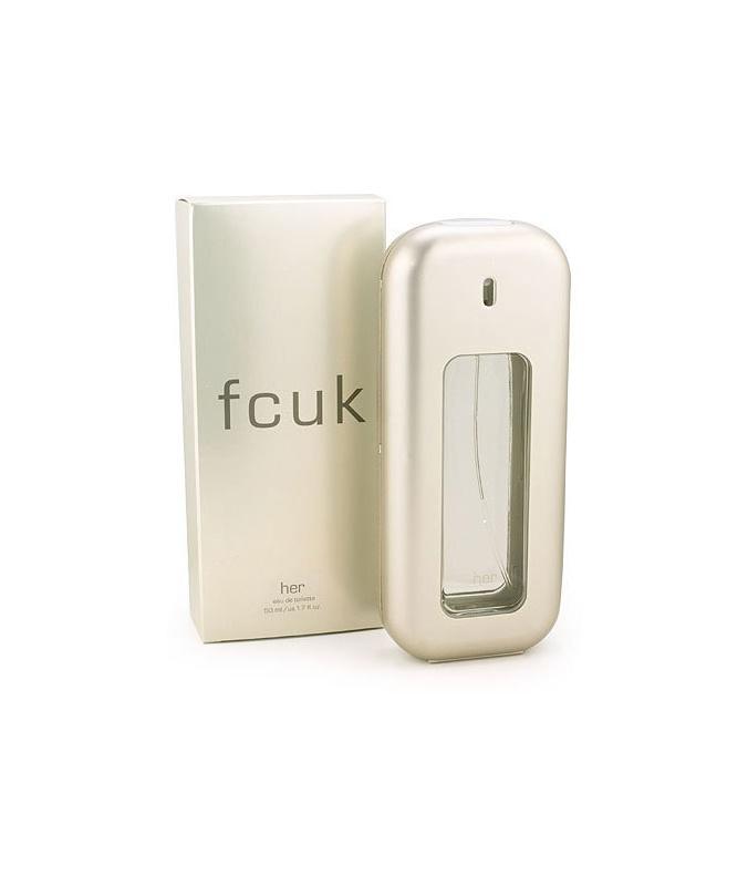 Fcuk Her eau de toilette per donna 100 ml