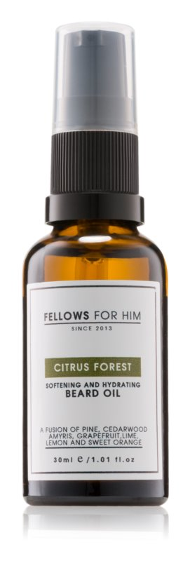 Fellows for Him Citrus Forest olej na bradu