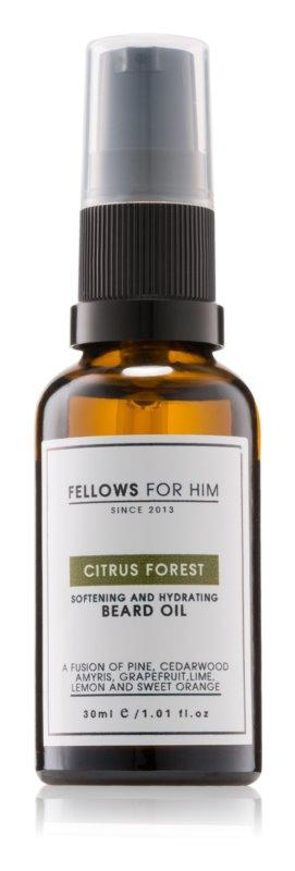Fellows for Him Citrus Forest olje za brado