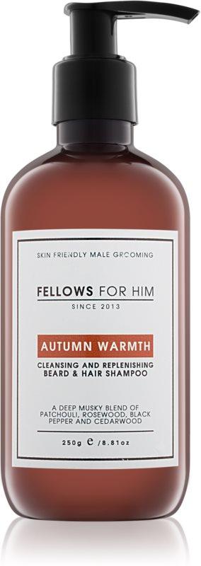 Fellows for Him Autumn Warmth šampon na vlasy a vousy