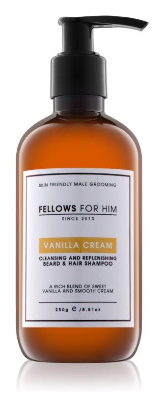Fellows for Him Vanilla Cream šampon na vlasy a vousy