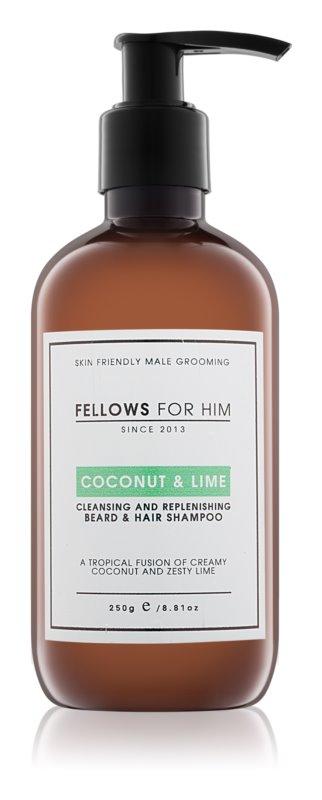 Fellows for Him Coconut & Lime šampon za lase in brado