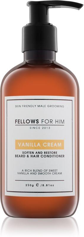 Fellows for Him Vanilla Cream haj és szakáll  kondicionáló