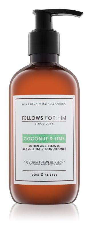 Fellows for Him Coconut & Lime balsamo per capelli e barba