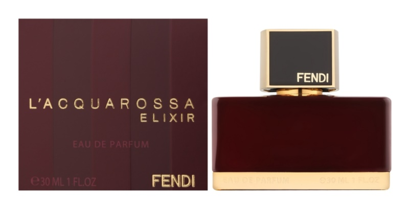 Fendi L'Acquarossa Elixir Eau de Parfum for Women 30 ml