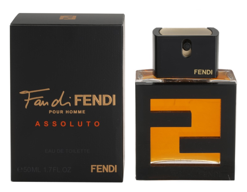 Fendi Fan di Fendi Pour Homme Assoluto Eau de Toilette for Men 50 ml