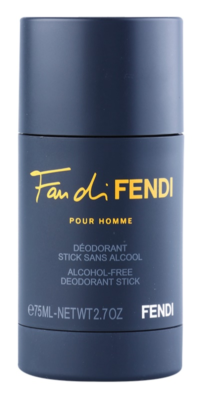 Fendi Fan di Fendi Pour Homme stift dezodor férfiaknak 75 ml alkoholmentes