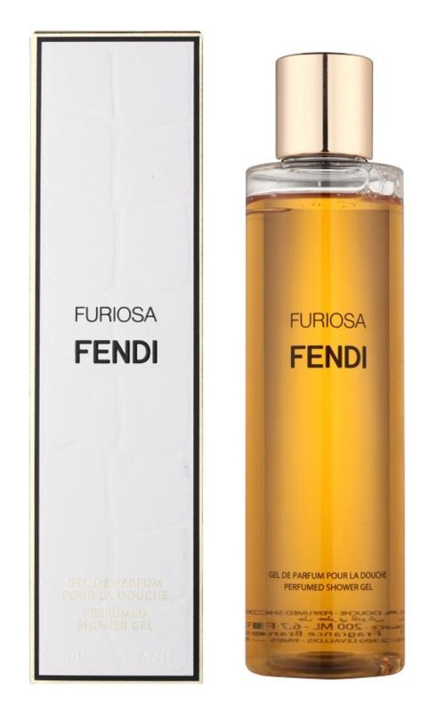 Fendi Furiosa Duschgel für Damen 200 ml