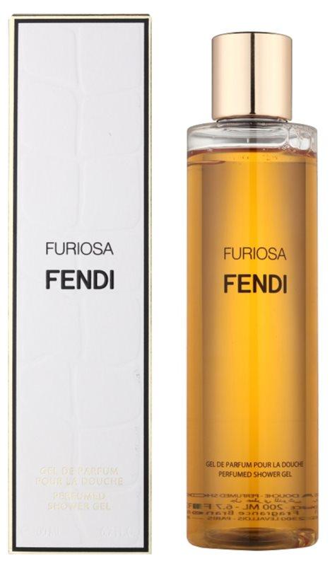 Fendi Furiosa sprchový gél pre ženy 200 ml