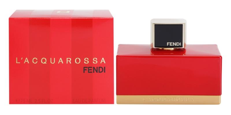 Fendi L'Acquarossa eau de parfum nőknek 75 ml
