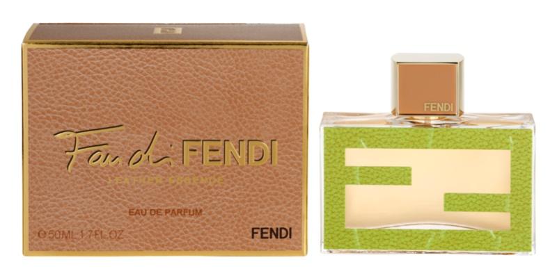 Fendi Fan Di Fendi Leather Essence eau de parfum pour femme 50 ml