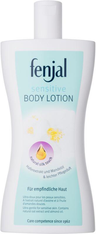Fenjal Sensitive testápoló tej az érzékeny bőrre