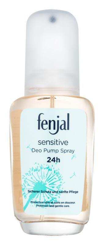 Fenjal Sensitive Deo met verstuiver voor Vrouwen  75 ml