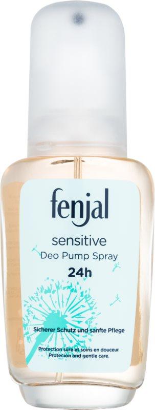 Fenjal Sensitive Deo mit Zerstäuber für Damen 75 ml