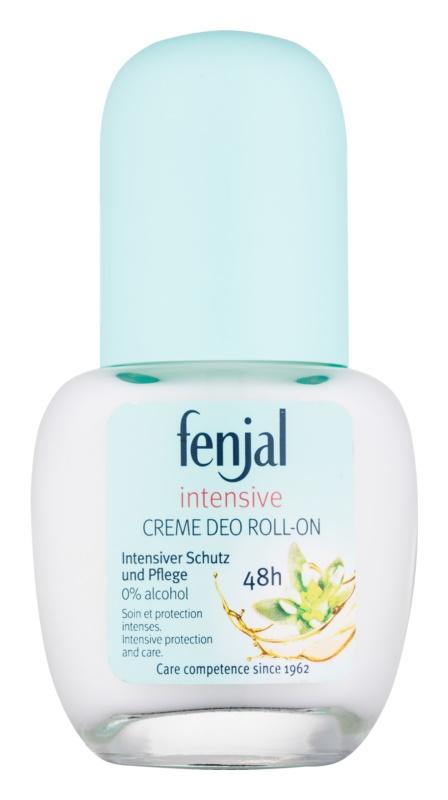 Fenjal Intensive desodorante roll-on en crema  48h
