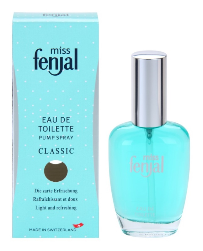 Fenjal Miss Classic Eau de Toilette for Women 50 ml With atomizer