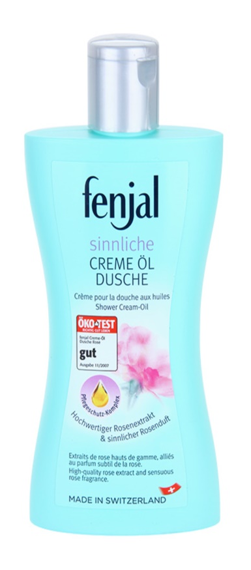 Fenjal Rose Cream Shower Gel With Added Oil