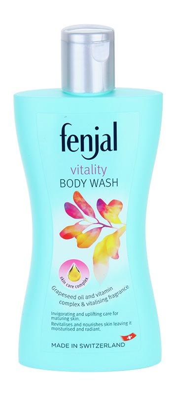 Fenjal Vitality crema de ducha revitalizante