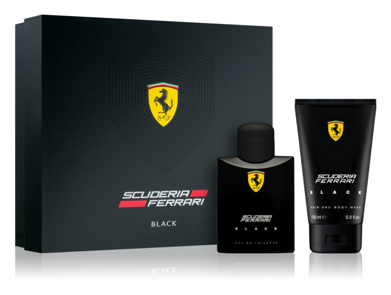 Ferrari Scuderia Ferrari Black dárková sada IV.