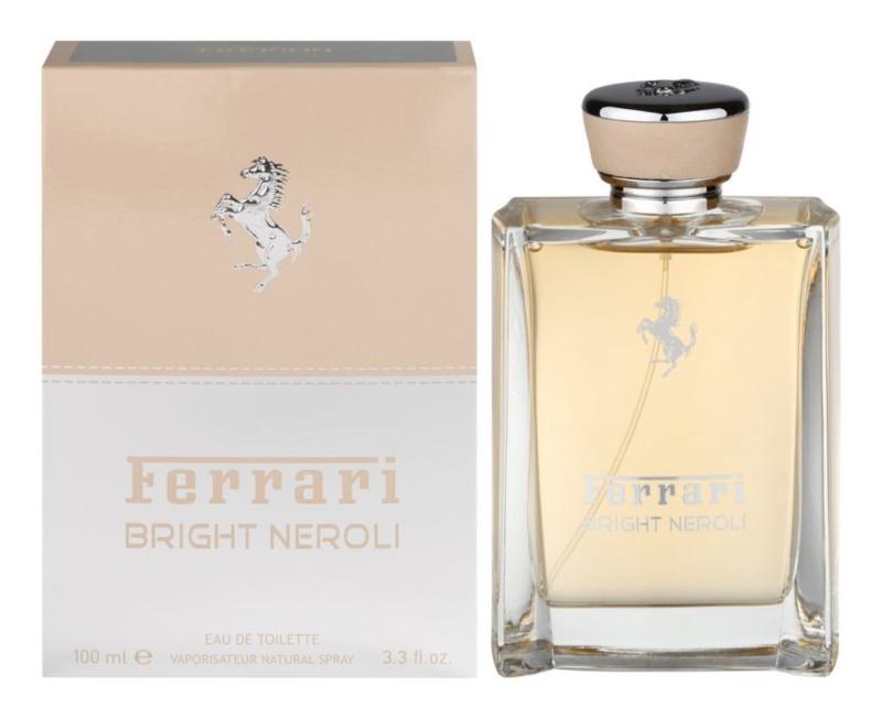 Ferrari Bright Neroli eau de toilette mixte 100 ml