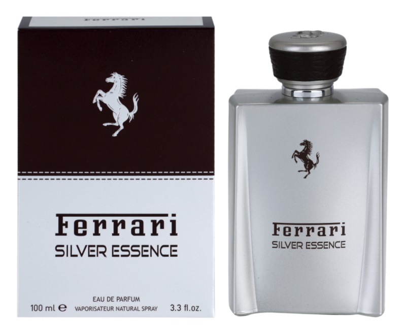 Ferrari Silver Essence Eau de Parfum for Men 100 ml