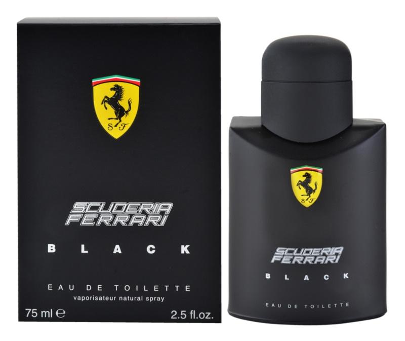 Ferrari Scuderia Ferrari Black Eau de Toilette Herren 75 ml