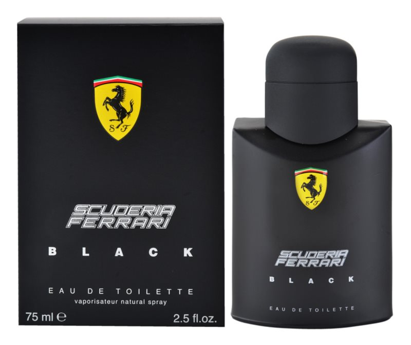 Ferrari Scuderia Ferrari Black woda toaletowa dla mężczyzn 75 ml