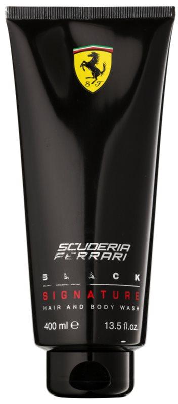 Ferrari Scuderia Black sprchový gel pro muže 400 ml