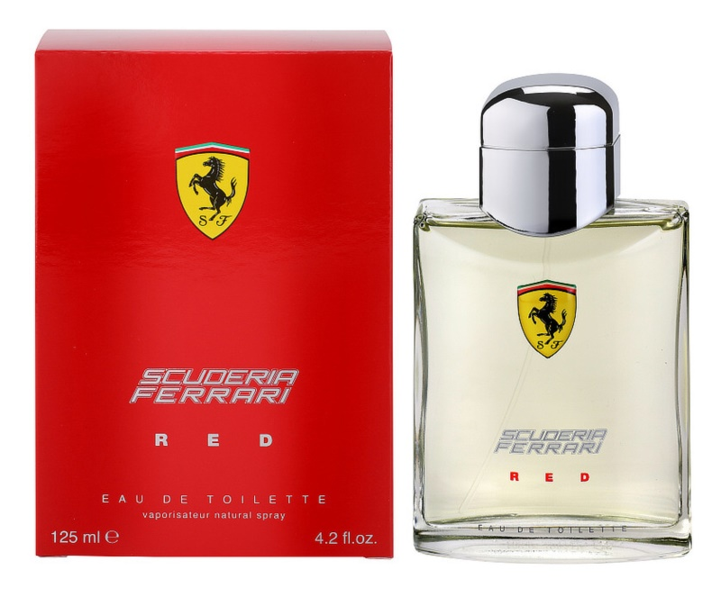 Ferrari Scuderia Ferrari Red toaletní voda pro muže 125 ml