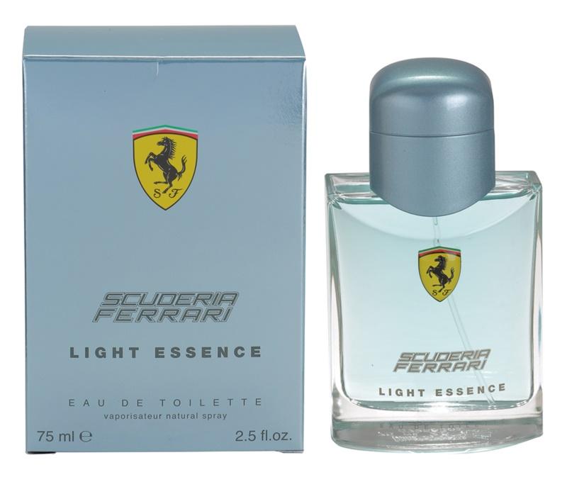 Ferrari Scuderia Light Essence Eau de Toilette for Men 75 ml