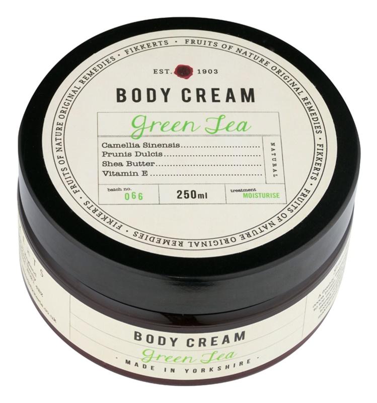 Fikkerts Fruits of Nature Green Tea Moisturizing Body Cream